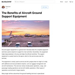 The Benefits of Aircraft Ground Support Equipment
