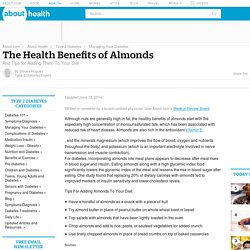 The Health Benefits of Almonds for Diabetics