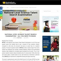 NSTSE - Benefits, Key dates, Awards, Application procedure