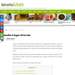 10 Benefits of Argan Oil for Hair