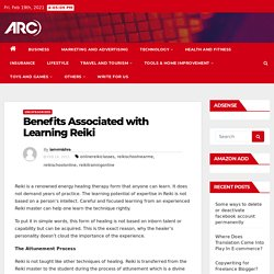 Benefits Associated with Learning Reiki -