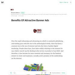 Benefits Of Attractive Banner Ads