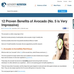 12 Proven Benefits of Avocado (No. 5 is Very Impressive)