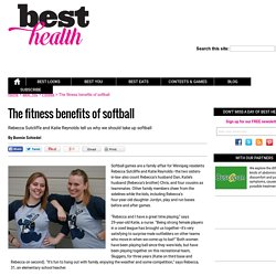 The fitness benefits of softball