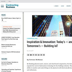 Benefits Internet of Things for buildings
