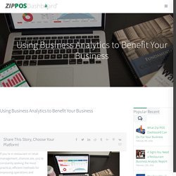 Benefits from You Using Business Analytics Tools