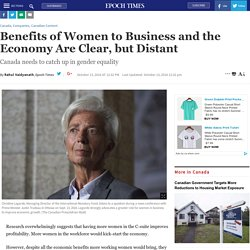 Benefits of women to business and the economy are clear, but distant