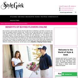 Benefits of Buying Flowers Online