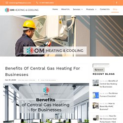 Benefits of Central Gas Heating for Businesses