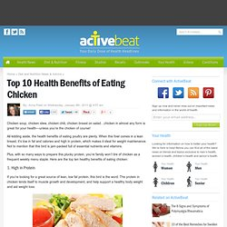 Top 10 Health Benefits of Eating Chicken