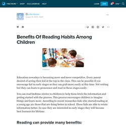 Benefits Of Reading Habits Among Children: ext_5504342 — LiveJournal