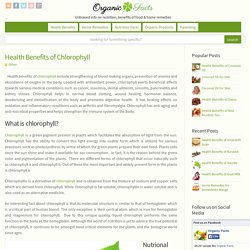 Health Benefits of Chlorophyll
