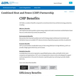 Combined Heat and Power (CHP) Partnership