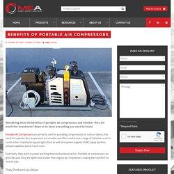 Benefits of Portable Air Compressors