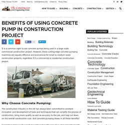 Find The Best Way To Using Concrete Pump In Construction Project