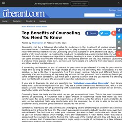 Top Benefits of Counseling You Need To Know