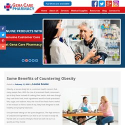 Some Benefits of Countering Obesity