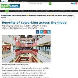 Benefits of coworking across the globe