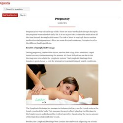 Benefits of Different Body Massages During Preg... - Lekko SPA - Quora
