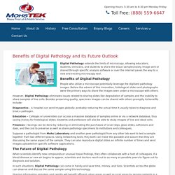Benefits of Digital Pathology