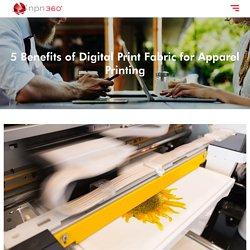 5 Benefits of Digital Print Fabric for Apparel Printing