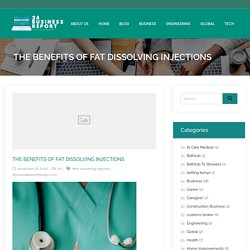 The Benefits Of Fat Dissolving Injections