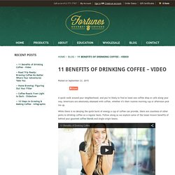 11 Benefits of Drinking Coffee - Video