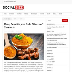 Uses, Benefits, and Side Effects of Turmeric