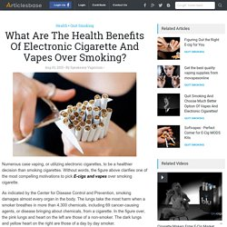 What Are The Health Benefits Of Electronic Cigarette And Vapes Over Smoking?