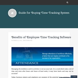 Top Free Time Tracking Software – Best System Reviews in 2015