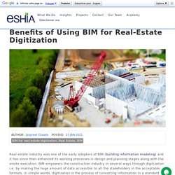 Benefits of Using BIM for Real-Estate Digitization