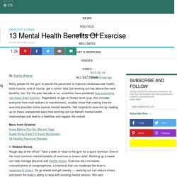 13 Mental Health Benefits Of Exercise