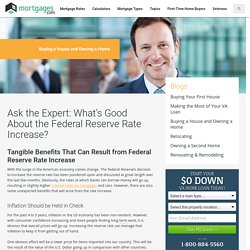 Benefits of Federal Rate Increase