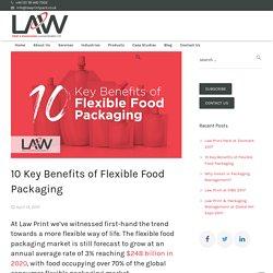 10 Key Benefits of Flexible Food Packaging