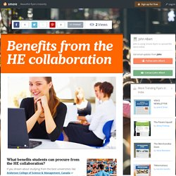 Benefits from the HE collaboration