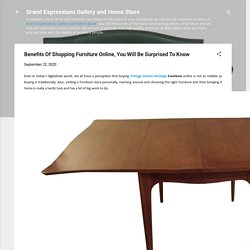 Benefits Of Shopping Furniture Online, You Will Be Surprised To Know