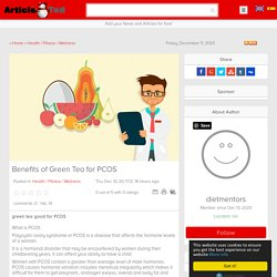 Benefits of Green Tea for PCOS Article