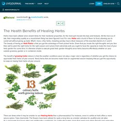 The Health Benefits of Healing Herbs : newsforhealth