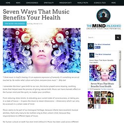 Seven Ways That Music Benefits Your Health