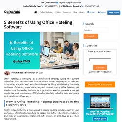 5 Benefits of Using Office Hoteling Software