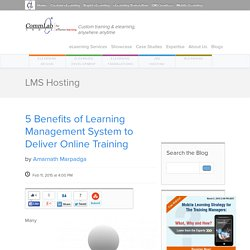 5 Benefits of Learning Management System to Deliver Online Training