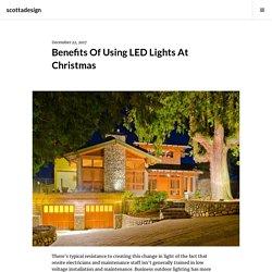Benefits Of Using LED Lights At Christmas