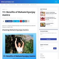 11+ Benefits of Mahamrityunjay mantra