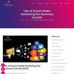Benefits of Social Media Marketing For Business Growth