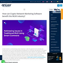 Benefits of Crypto Network Marketing Software