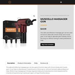 Benefits of Deep Tissue Massage Machine