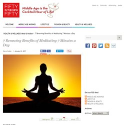 7 Benefits Of Meditating Daily