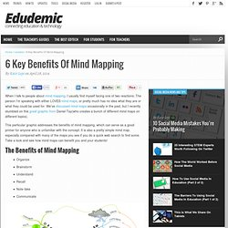 6 Key Benefits Of Mind Mapping