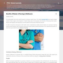 Benefits of Master of Nursing in Melbourne