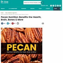 Top 8 Benefits of Pecan Nutrition + Pecan Recipes